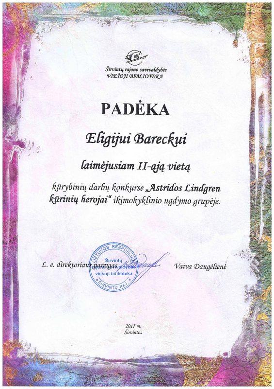 Egidijaus Barecko