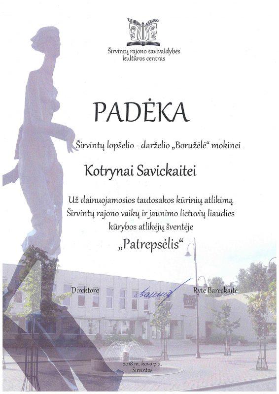 Padeka K. Savickaite.output