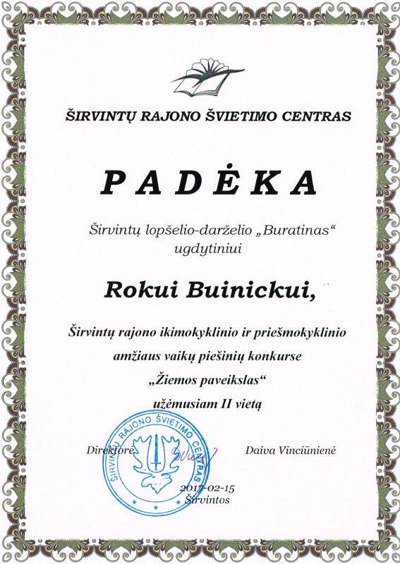 Padeka Rokui Buinickui